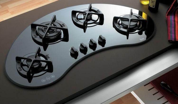 варочная панель из закаленного стекла