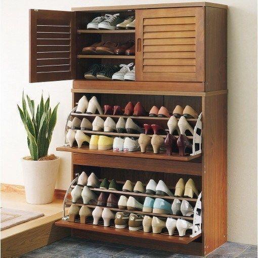шкаф-калошница для хранения летней обуви