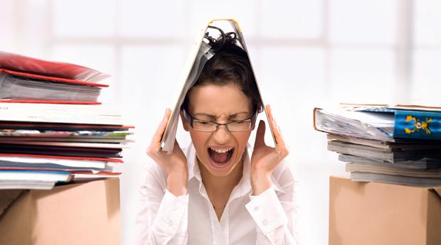 чрезмерный стресс