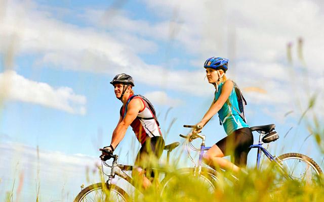 велопрогулки на свежем воздухе