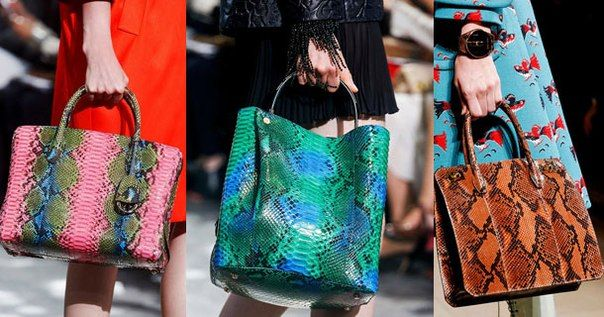 яркие женские сумки