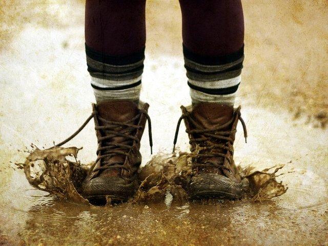 сушить обувь каждый день