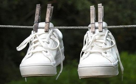простой способ сушить обувь