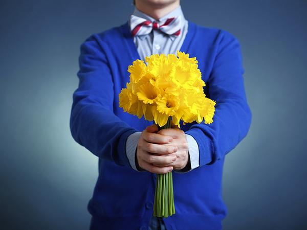 подарить букет цветов